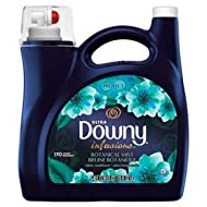 Downy Ultra Infusions Botanical Mist Liquid Fabric Softener 115 Fl. Oz 170 Loads