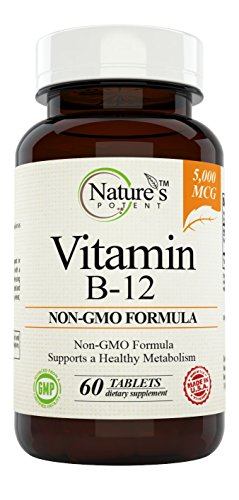 Natures Potent Vitamin Supplement Methylcobalamin