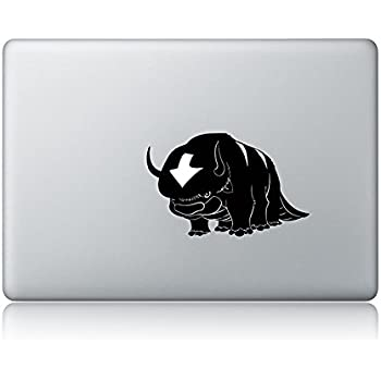 Avatar appa the last airbender apple macbook decal vinyl sticker apple mac air pro laptop sticker
