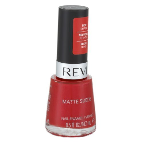 Revlon Matte Suede Fire Enamel