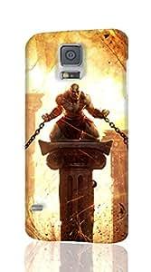 chains fantasy Fighting God godwar Kratos war Custom Diy Unique Image Durable 3D Case for Samsung Galaxy S5 i9600 Hard Case Cover