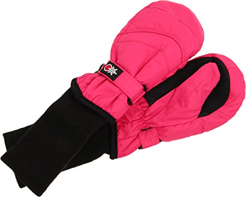 SnowStoppers Kids Waterproof Stay On Winter Nylon Mitten