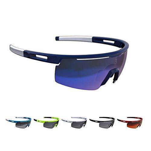BBB BSG-57 uniseks-volwassene Avenger sportbril met verwisselbare glazen