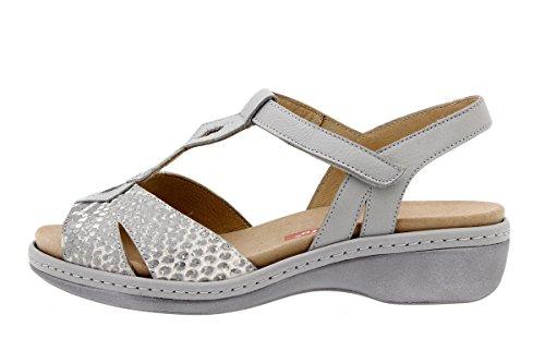 Cuir en PieSanto Semelle Chaussure Amples à 1821 Femme Confort Natural Amovible Sandales Confortables SUH1xIqAHw
