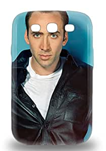 Galaxy S3 Well Designed Hard 3D PC Case Cover Nicolas Cage The United Kingdom Male Nicolas Kim Coppola Ghost Rider Protector ( Custom Picture iPhone 6, iPhone 6 PLUS, iPhone 5, iPhone 5S, iPhone 5C, iPhone 4, iPhone 4S,Galaxy S6,Galaxy S5,Galaxy S4,Galaxy S3,Note 3,iPad Mini-Mini 2,iPad Air )
