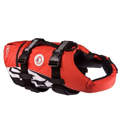 EzyDog Seadog Hunde-Schwimmweste, Größe XL, rot