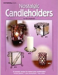 NOSTALGIC CANDLEHOLDERS A Stained Glass Pattern ()