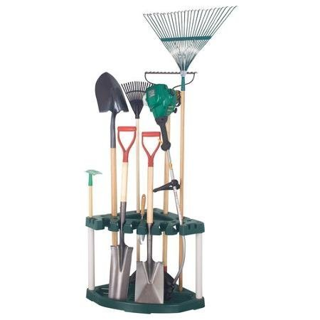 Plano Long Handle Corner Tool Rack, Green