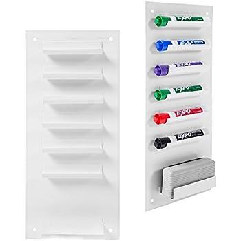 Amazon.com : 6-Slot Wall Mounted Metal Dry Erase Marker