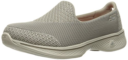 Skechers Performance Women's Go Walk 4 Propel Walking Shoe, Taupe, 11 M US