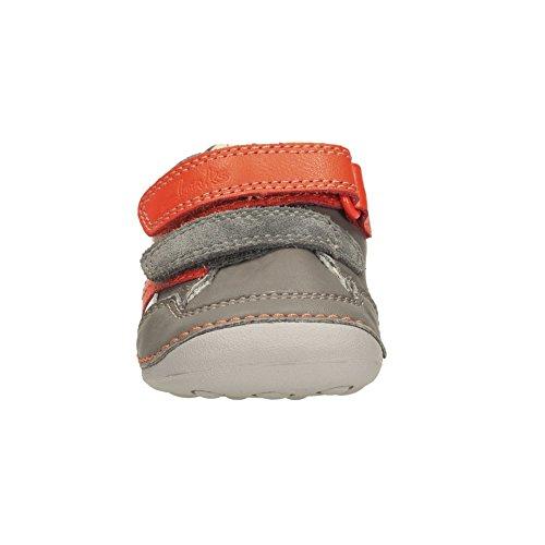 ClarksTiny Zakk - zapatillas de running Bebé-Niños Grey Combi