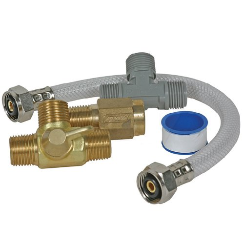[Camco Quick Turn Permanent Waterheater Bypass Kit] (Permanent Bypass Kit)