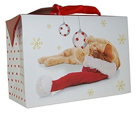 Geschenkboxen Weihnachten Taschenbox Jumbo 31x26x12 Weihnachtstüte 22-0316-3
