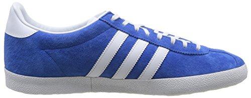 adidas Gazelle Og, Zapatillas para Hombre Azul (Air Force Blue/White/Metallic)