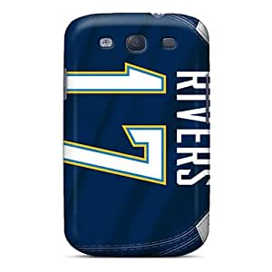 Premium Protective Hard Cases For Galaxy S3- Nice San Diego Chargers Design