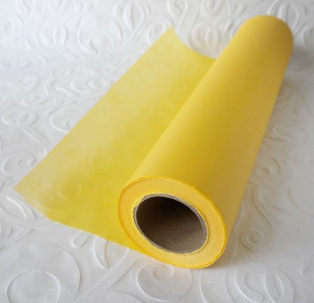 Yellow Vellum - Borden & Riley #35C Sun-Glo Thumbnail Sketch Paper, 8 lb, 12 Inches x 50 Yards Per Roll, Canary Yellow, 1 Roll Each (35CR125000)