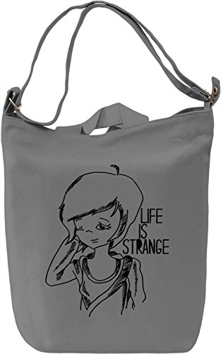 Life is Strange Borsa Giornaliera Canvas Canvas Day Bag| 100% Premium Cotton Canvas| DTG Printing|