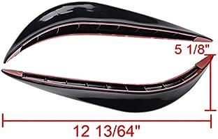 Femitu Universal Stick-on Car Rear Bumper Anti-rub Edge Lip Anticollision Protector Protection Guard Car Bumper Protector with 3M Adhesive Tape 3R-ARCC-NU1Z