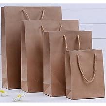 "50 Kraft Paper Shopper Shopping Bag 4.25x2x5.75"""