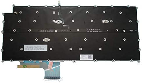 Laptop Keyboard for LG 13Z980 13ZD980 SG-91030-XUA AEW73969802 English US White Without Frame /& with Backlit
