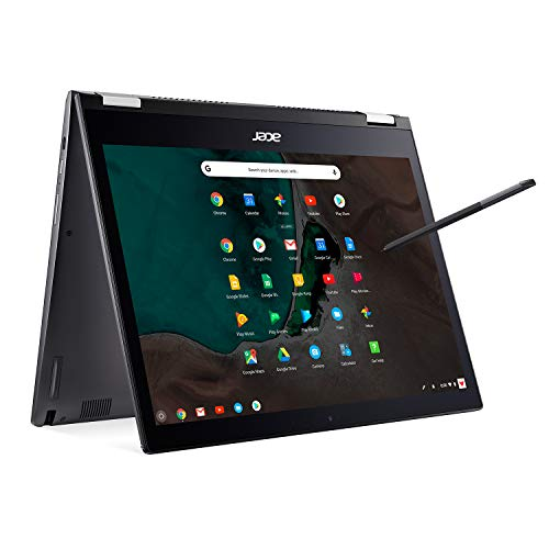 "Acer Chromebook Spin 13 CP713-1WN-53NF Convertible Laptop, 8th Gen Intel Core i5-8250U, 13.5"" 2256 x 1504 Touchscreen, 8GB LPDDR3, 128GB eMMC, Backlit Keyboard, Aluminum Chassis"