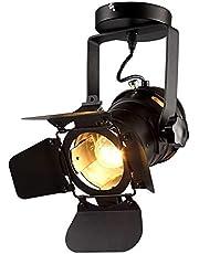 Hobaca® 220V E27 L31 * W17 * H35 cm loft soffitto Spot LED faro quadro lampade da soffitto lampada casa illuminazione 48