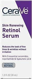 CeraVe Skin Renewing Cream Serum 1 oz Facial Moisturizer with Retinol