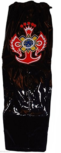 Main Street 24/7 Rey Mysterio Licensed Youth Size Faux Leather Black Replica Pants by Main Street 24/7