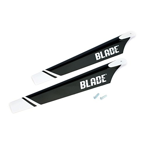 Blade Main Rotor Set with Hardware: 120SR (Rotor Blades)