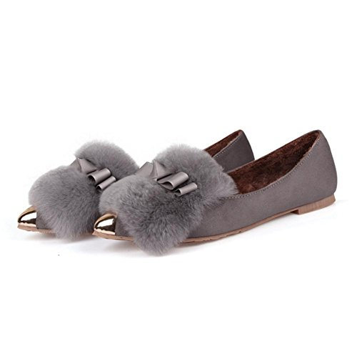 pengweiInoltre i velluti hanno indicato le signore di grandi dimensioni le scarpe piane calde del cotone