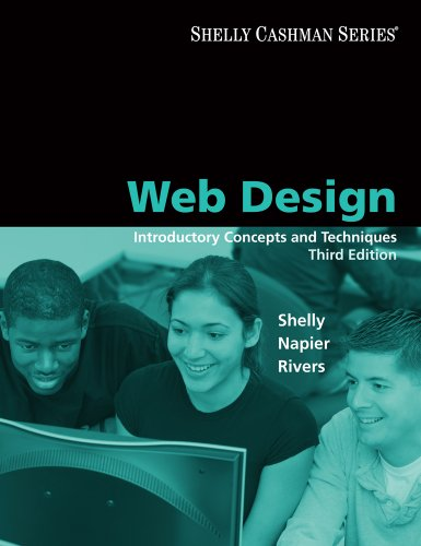 Download Web Design: Introductory Concepts and Techniques (Available Titles Skills Assessment Manager (SAM) – Office 2010) Pdf