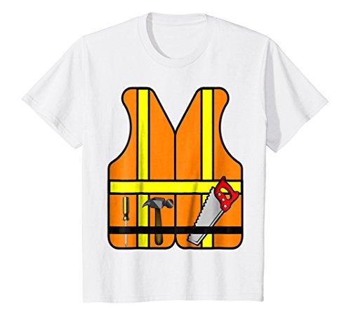 (Kids Construction Worker Role Play T-Shirt Halloween Costume 4)