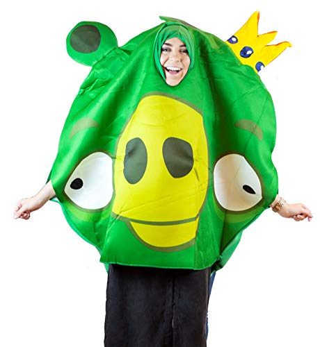 Angry Birds Adult Costume Green - Standard