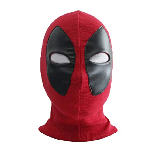 Baynne Unique Design Breathable Halloween Cosplay Full Face Mask Adult Kids Knitted Elastic Horror Face Masks Funny Costume