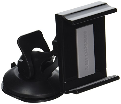 Merkury Innovations Ball & Socket Joint Car Mount for iPhone/Android - Retail Packaging - Black