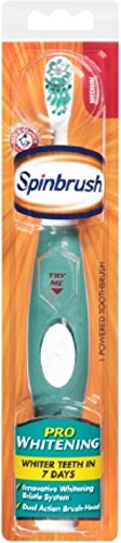 ARM & HAMMER SpinBrush Pro-Whitening Powered Toothbrush, Sof