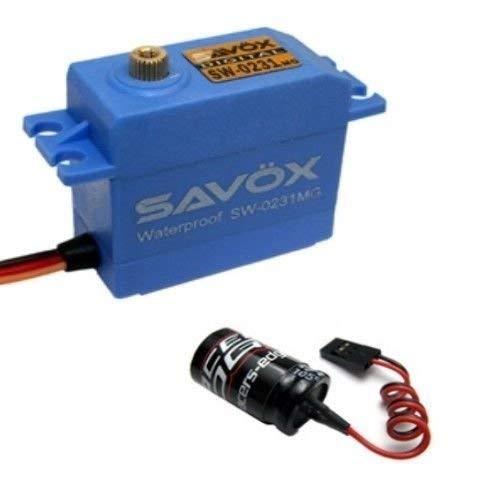 Savox SW 0231MG 208OZ 0.17 SEC Standard Waterproof SERVO HIGH Torque Free Glitch Buster JR FUTABA SPEKTRUM LOSI HPI ARRMA