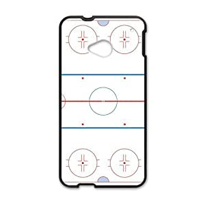 Canting_Good Ice Hockey Custom Case Shell Skin for HTC One M7(Laser Technology)