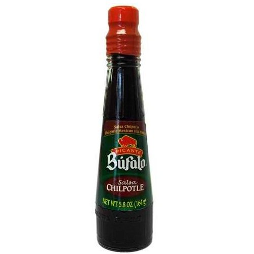 Bufalo Chipotle Very Hot Mexican Hot Sauce, 5.4 Ounce (Pack of 24)