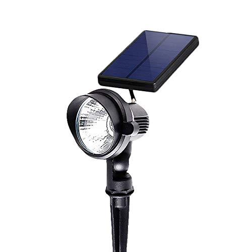 Solar Spotlights,Outdoor Solar Landscape Lights Waterproof Dusk to Dawn Auto On/Off for Pathway, Deck,Walkway, Garden, Patio, Driveway, Ground, Yard,Pool (Daylight - Lighting Solar Sol