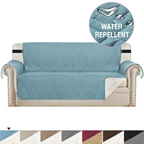 Reversible Cover for Extra-Wide Couch Oversize Furniture Protector for Sofas, Seat Width Up to 78