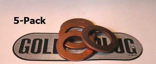 14mm Copper Crush Washer SW-08 - 5-Pack - Copper Crush Washers Shopping Results