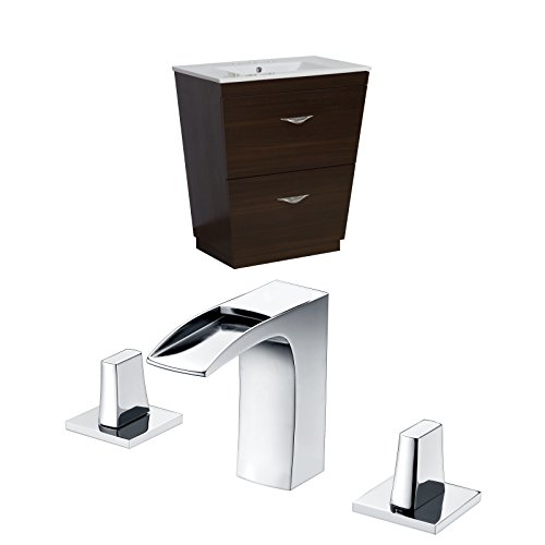American Imaginations AI-8998 Plywood-Melamine Vanity Set with 8