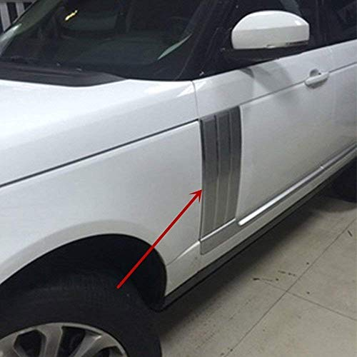 (AUTO Pro for Land Rover Range Rover Vogue 2014-2017 Car Side Door Air Fender Vent Trim Matte)