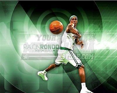 Rajon Rondo Boston Celtics green target pass 8x10 11x14 16x20 photo 605 - Size - Stores Boston Target