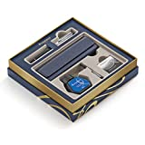 Waterman Expert Deluxe Black Lacquer CT Fountain Pen, Medium Nib, With Ink Bottle, Converter, Ink Cartridges and Case