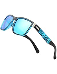 Vintage Polarized Sunglasses for Men Women Retro Square Sun Glasses D518