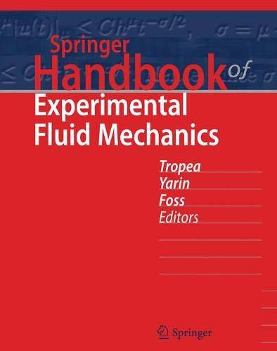 Springer Handbook - Springer Handbook of Experimental Fluid Mechanics (Springer Handbooks)