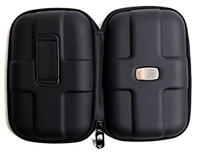 DURAGADGET Impact Resistant Clam Shell Style External Hard Drive Case - Compatible with Buffalo Ministation