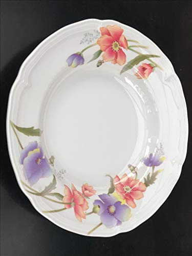 Z-Moments Melamine Round Soup Plate Deep, 9